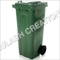 Plastic Closed Lid Dustbins