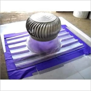 Air Turboventilator with Polycarbonate base