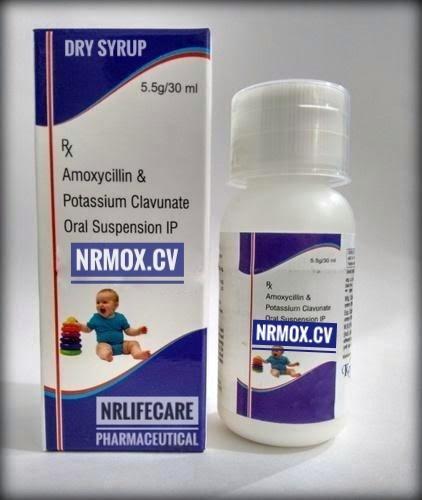 Amoxicillin & Potassium Clavulanate Oral Suspension(NRMOX-CV)
