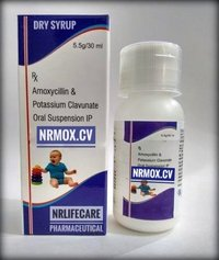 Amoxicillin & Potassium Clavulanate Oral Suspension(NRMOX-CV)