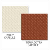 Ivory Capsule-Terracotta Capsule Tiles
