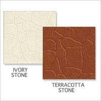 Ivory Stone-Terracotta Stone Tiles