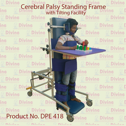 Cerebral Palsy Standing Frame with Tilting Facility