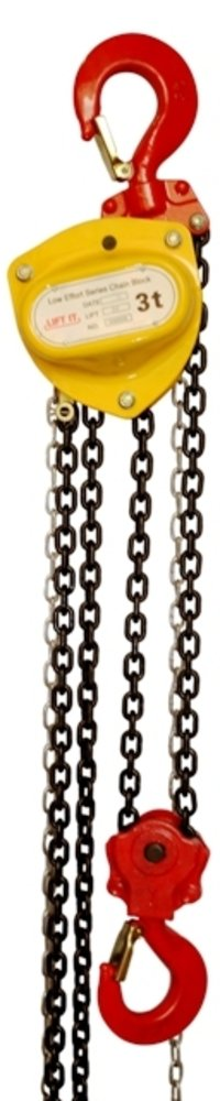 LIFTIT BRAND LOW EFFORT AND HIGH SPEED CHAIN PULLEY BLOCKS