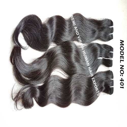 Cuticle Aligned Raw Virgin Indian Temple Hair Directly From India Raw Indian Hair