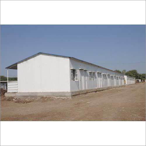 Mild Steel Industrial Roofing Shed