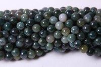 Moss Agate 8 MM Beads