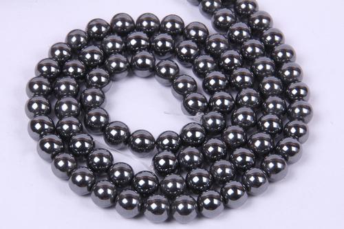 Hematite 8 MM Beads