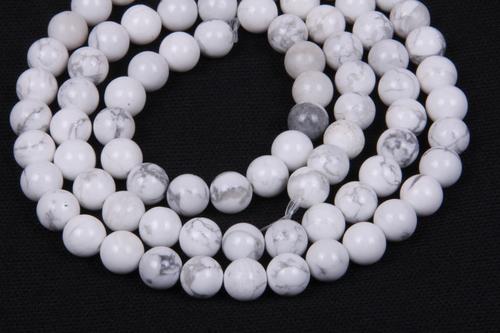 Howlite 8 MM Beads