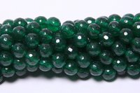 Jade Faceted 8 MM Beads