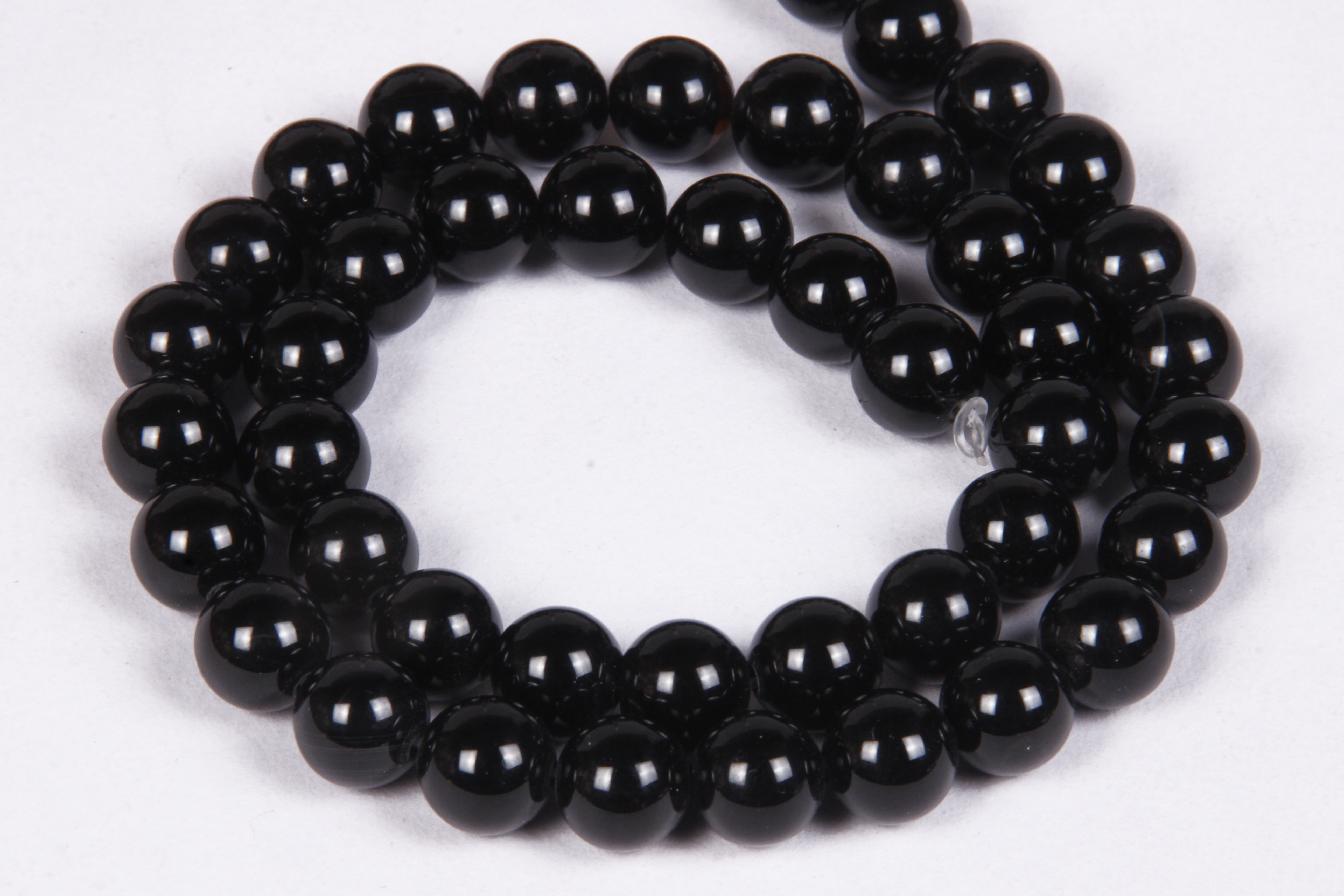 Black Onyx Round Beads
