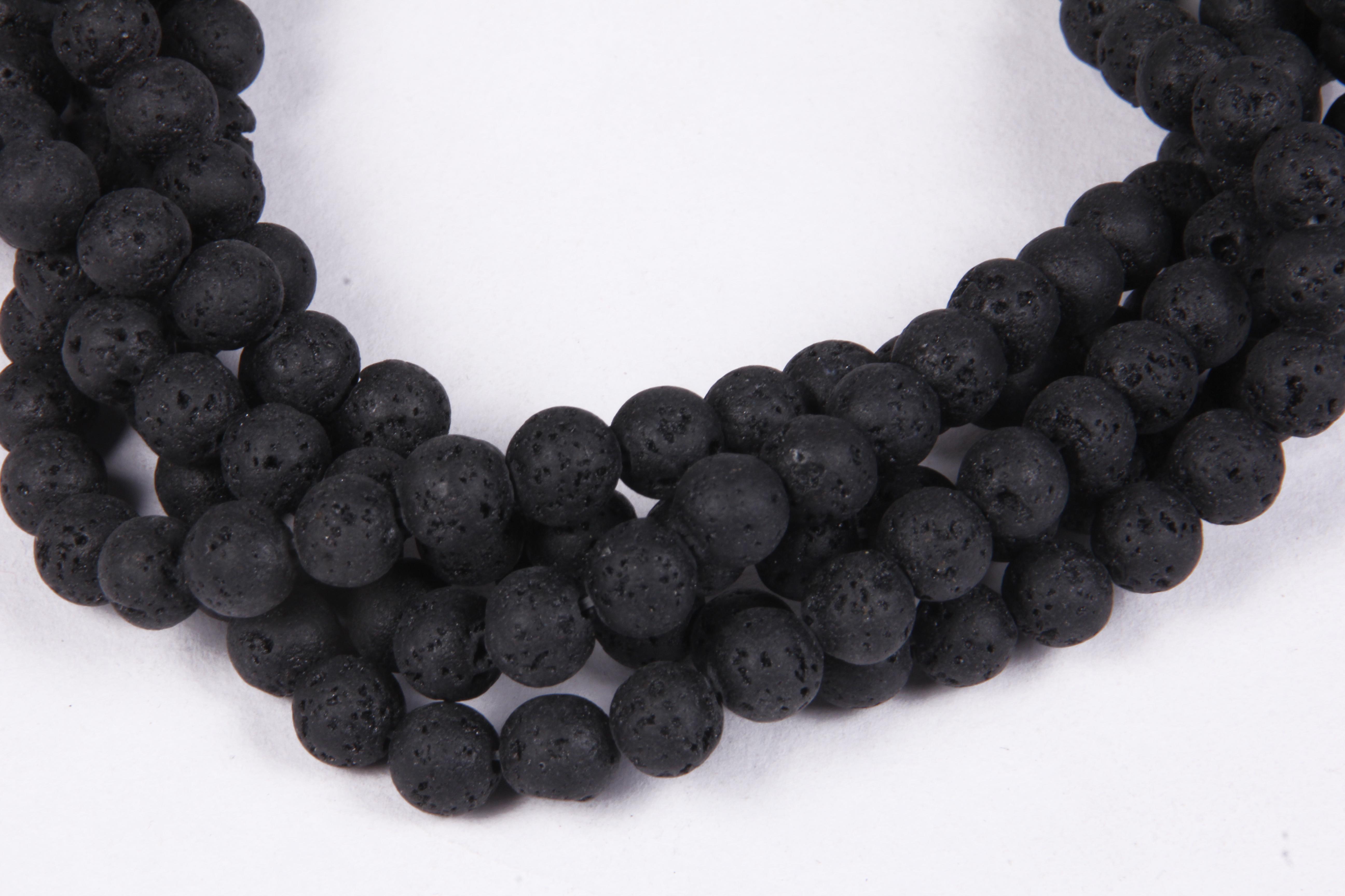 Lava 8 MM Beads