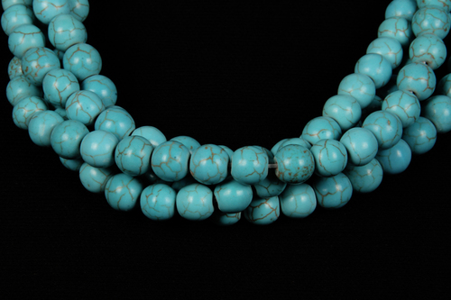 Turquoise 8 MM Beads