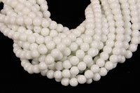 White Jade 8 MM Beads