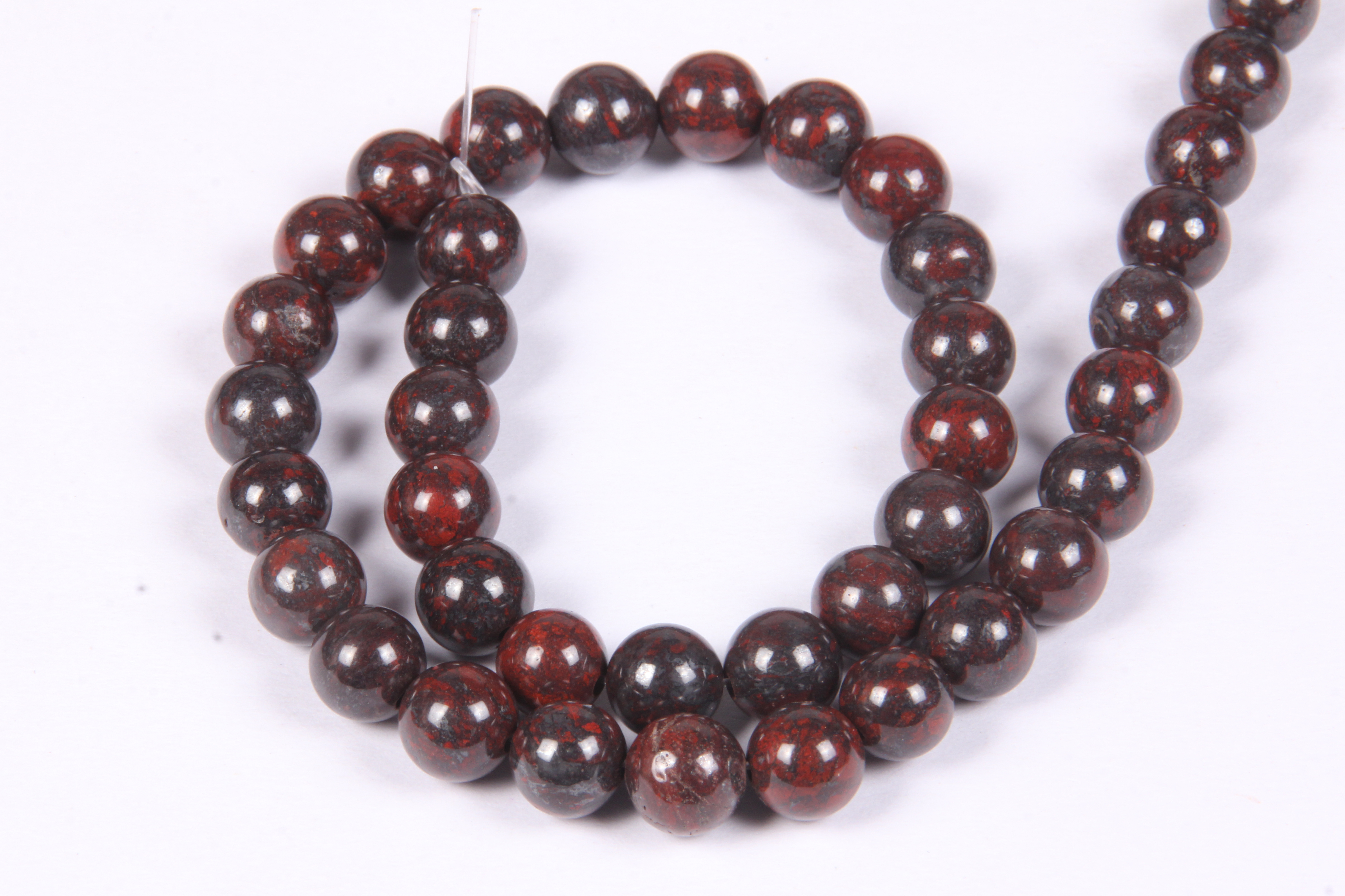 Bloodstone 8 MM Beads