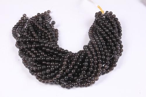 Black obsidian 8 MM Beads