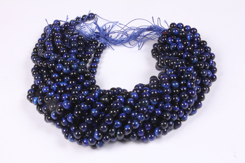 Blue Tiger Eye 8 MM Beads