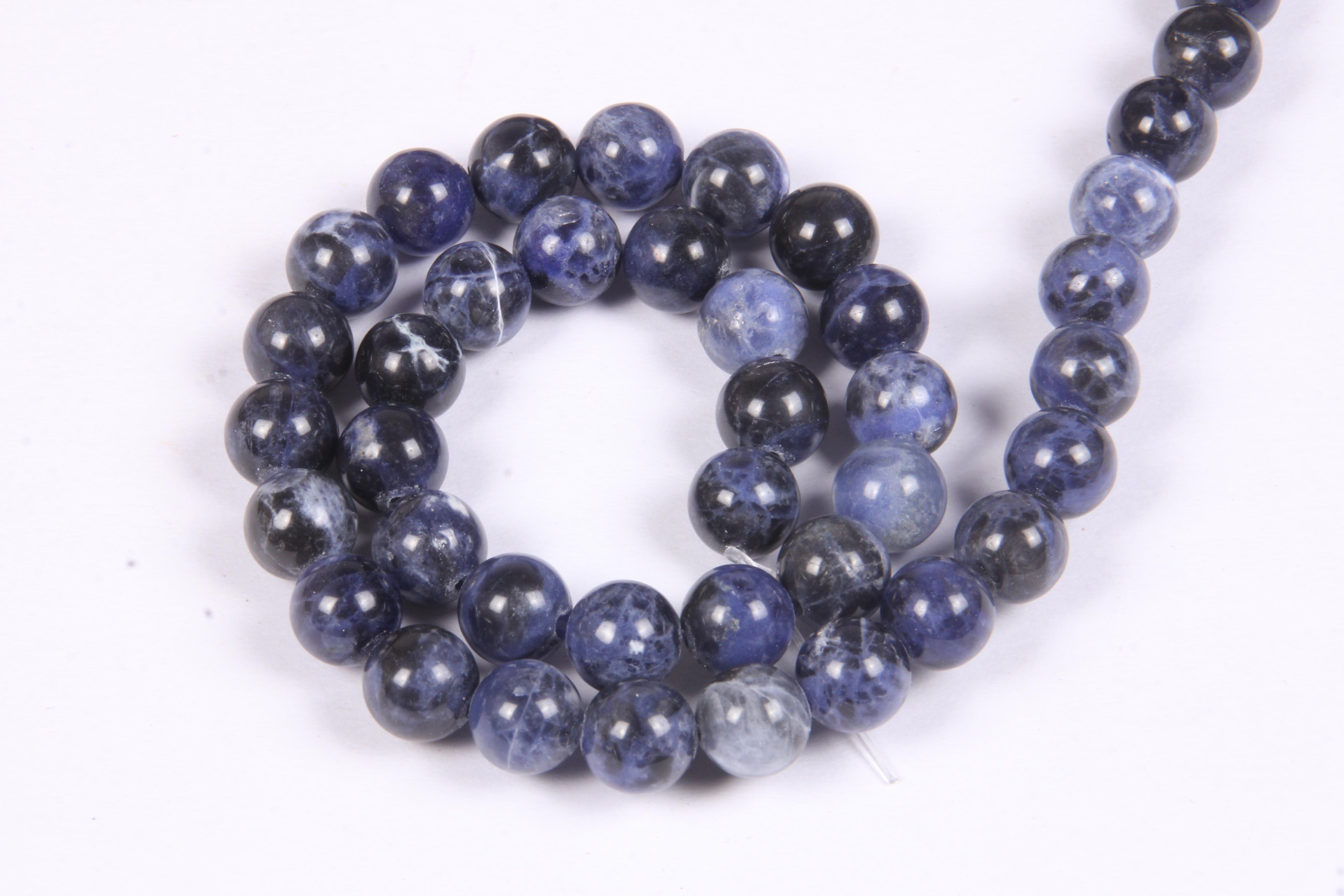 Sodalite 8 MM Beads