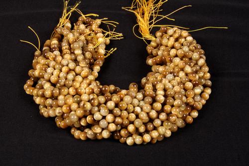 Yellow Tiger Eye 8 MM Beads