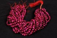 Pink Tiger Eye Beads