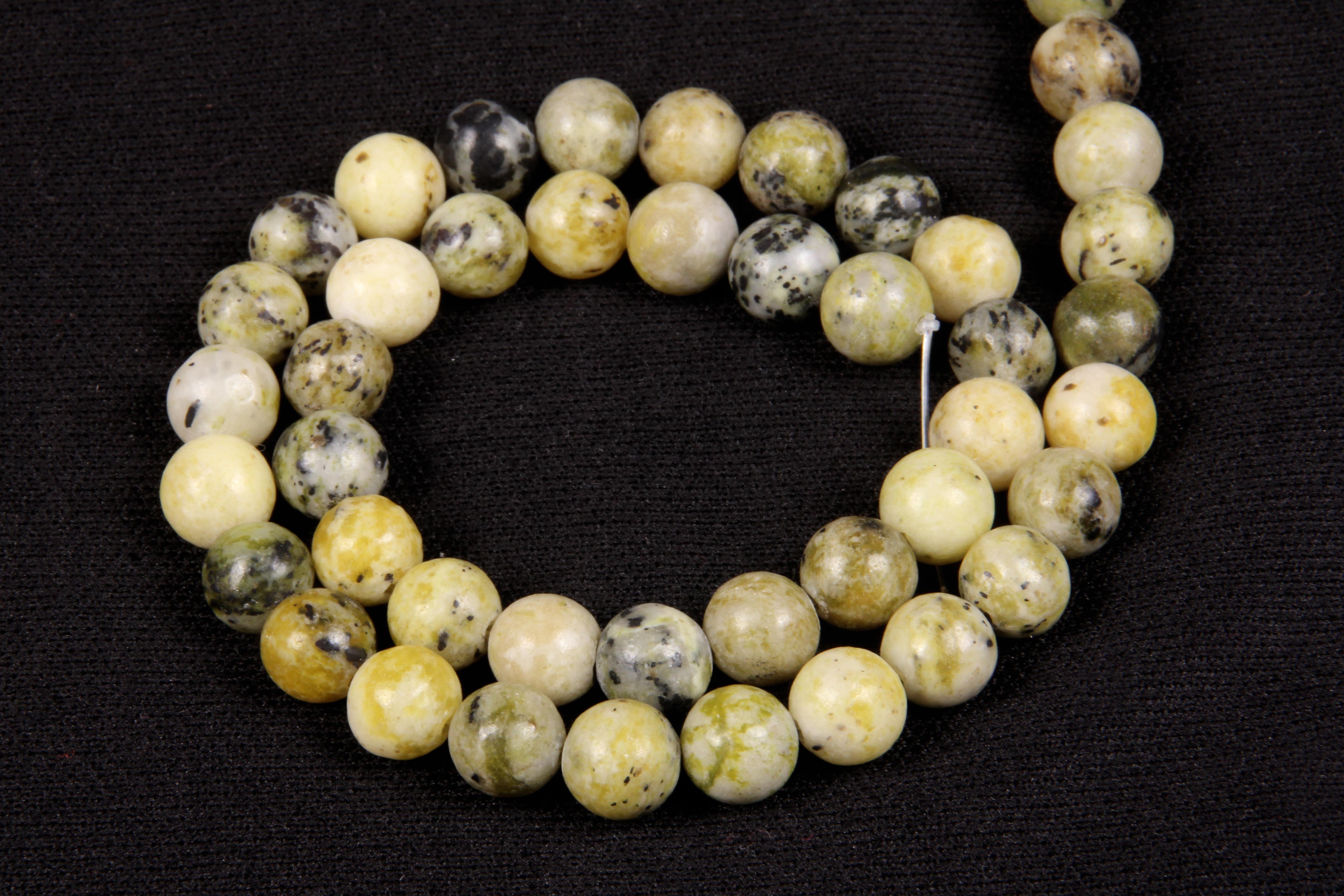Serpentine 8 MM Beads