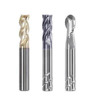 Power Mill solid carbide end mills