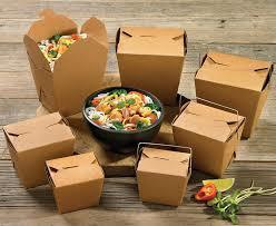 bio degradable take away boxes