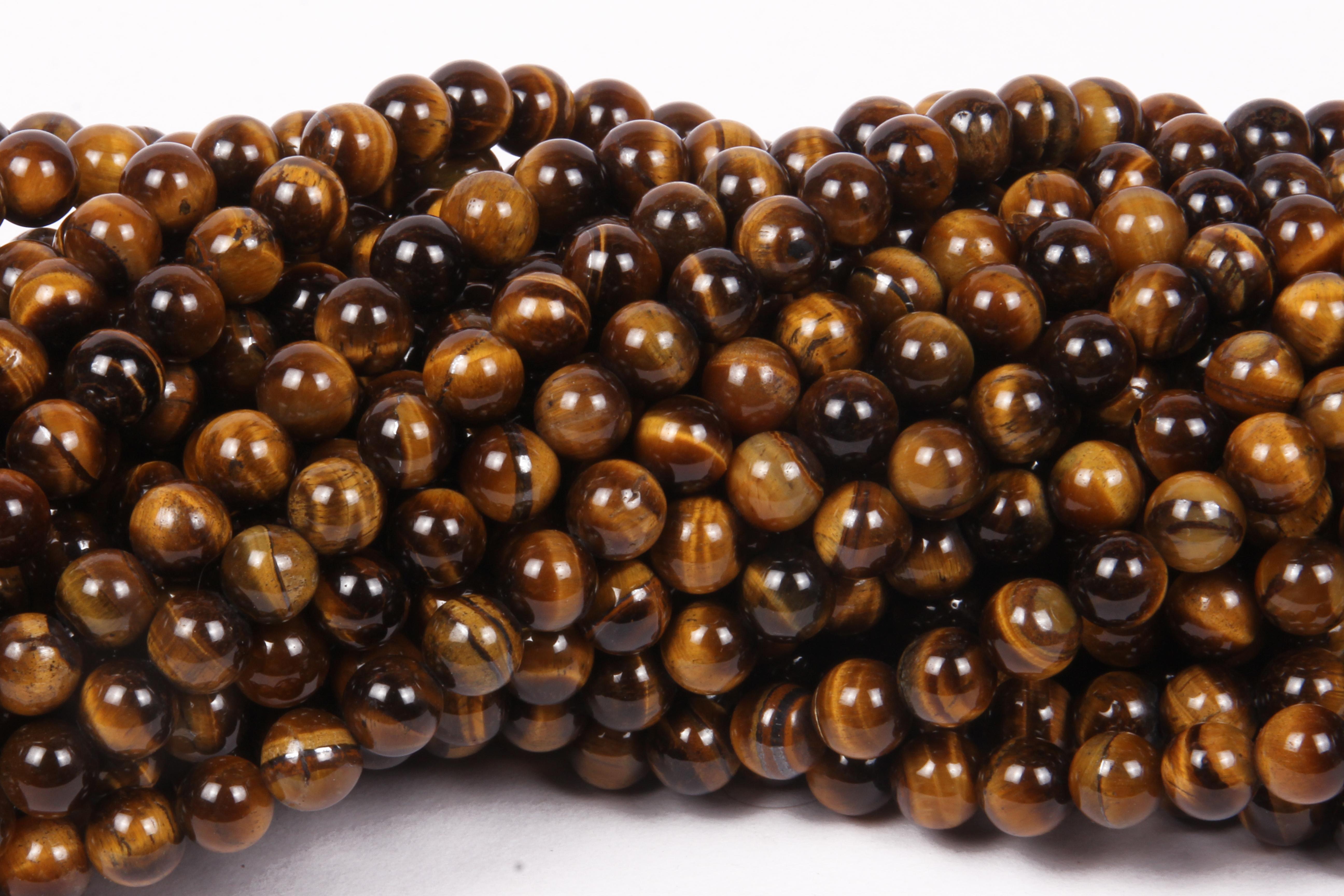 Tiger Eye 8 MM Beads