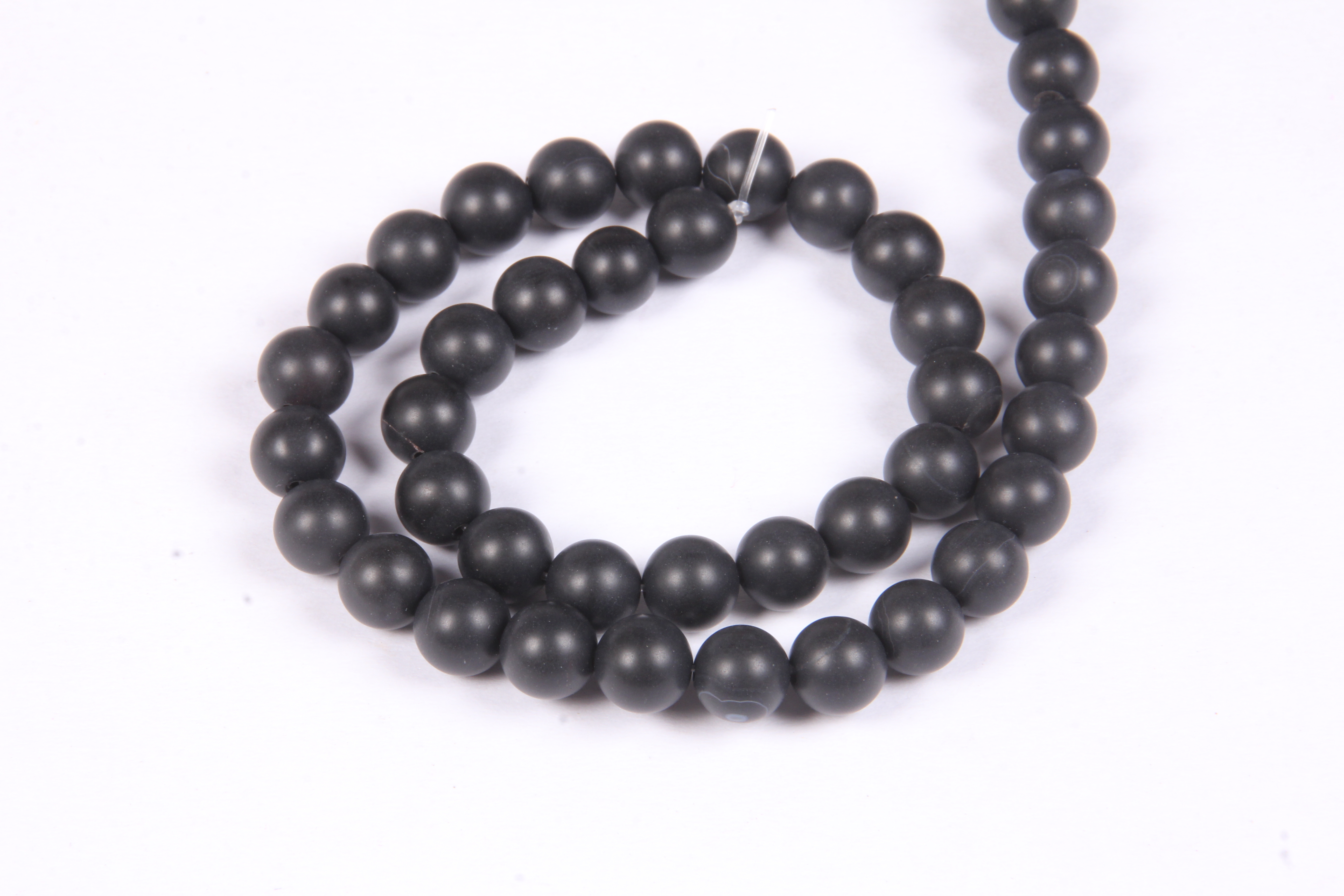 Black Agate 8 MM Beads