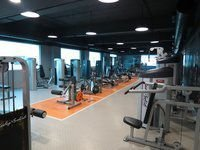 Commercial Fitness Gym Setup