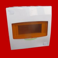 4 Way White Line MCB Distribution Board