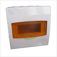 6 Way White Line MCB Distribution Board