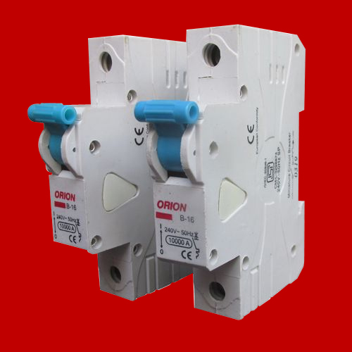 Single Pole MCB Switch