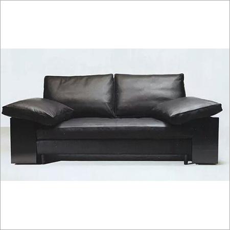 Black Modular Double Seat Sofa
