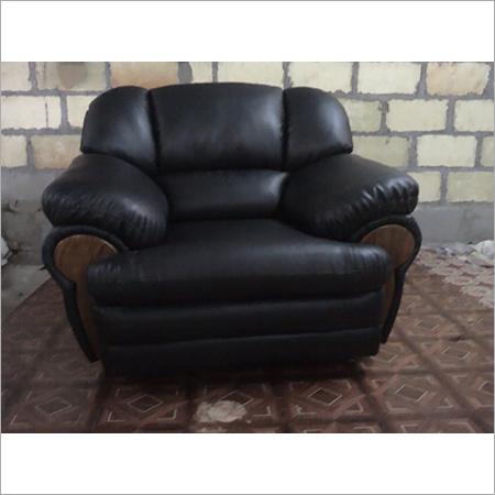 Black Single Seater Sofa
