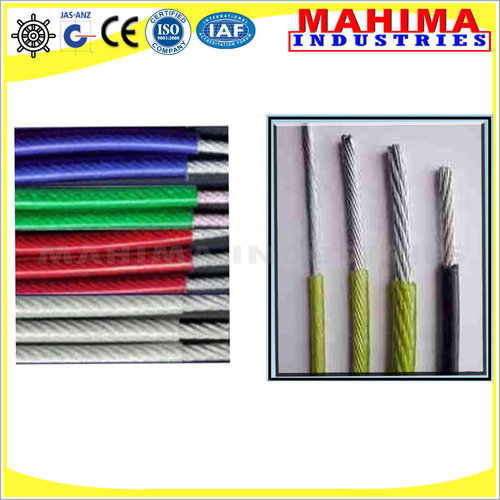 PVC Coated Stainless Steel wire Rope