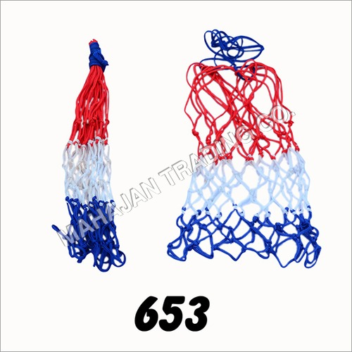 Tri-colour Basketball Net