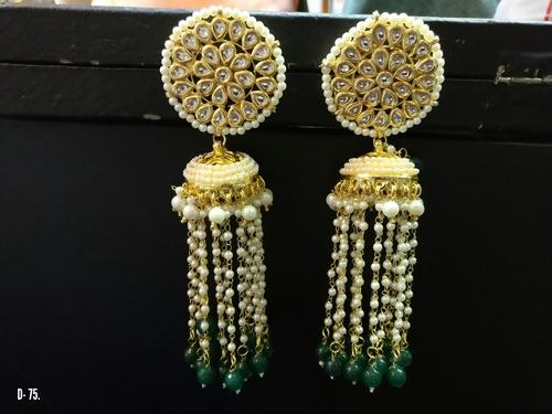 Designer Jhumka Earrings