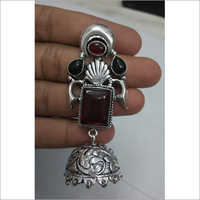 German Sliver Jhumka