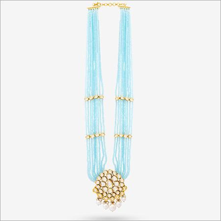 Kundan With Bead Pendant