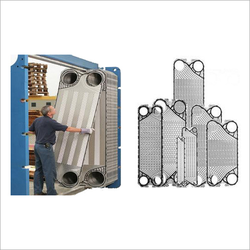 Industrial Plate Heat Exchanger Plate