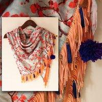 Designer Digital Printed Scarf Fabric