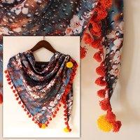 Fancy Digital Printed Scarf Fabric