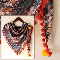 Digital Fancy Printed Scarf Fabric