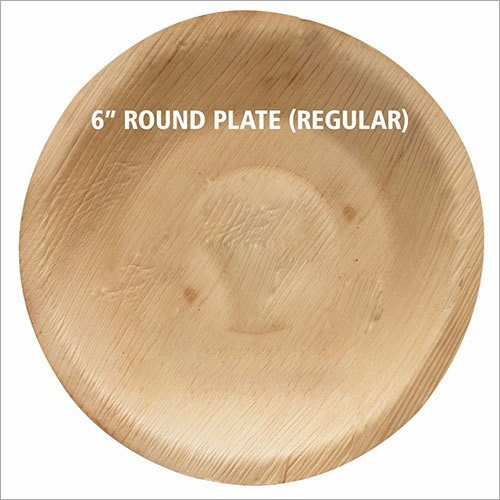Round Areca Palm Leaf Plate