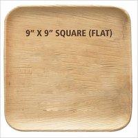 Square Arecanut Leaf Plate