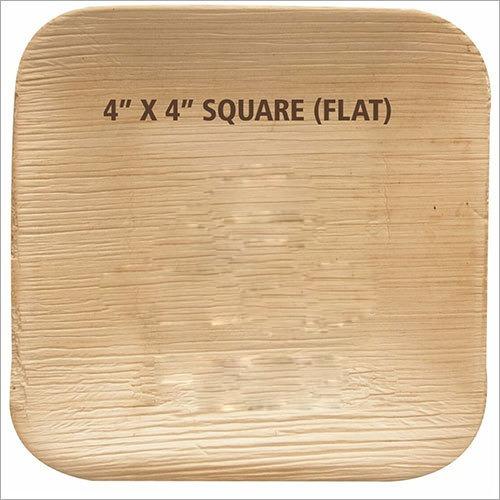 Flat Square Areca Leaf Plate