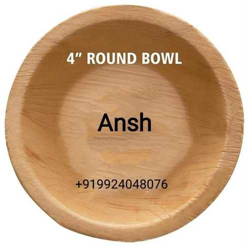 Round Areca Bowl
