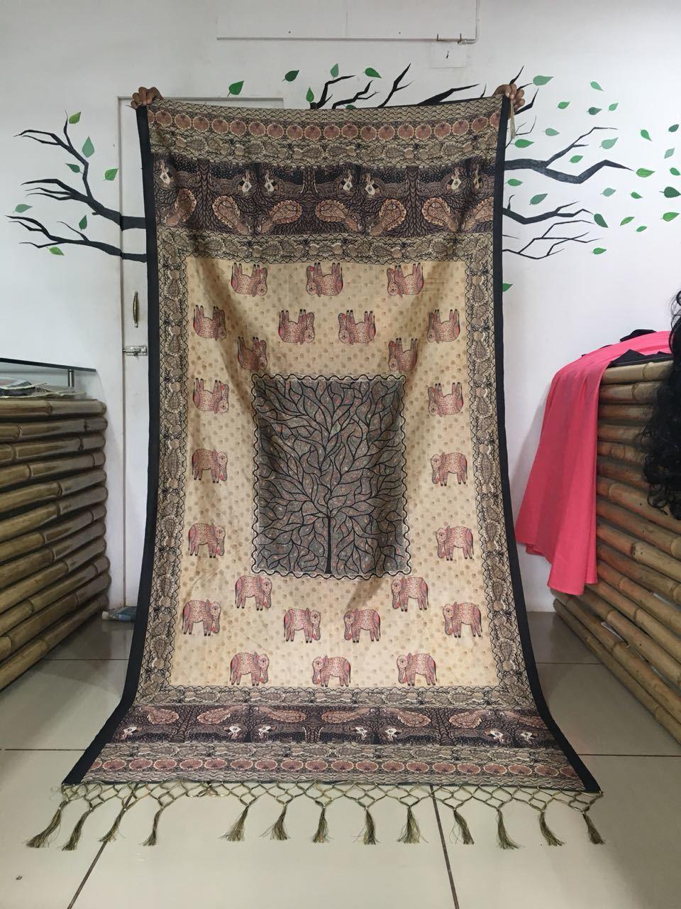 Designer Printed Dupatta Fabric
