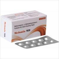 Methylcobalamin  1500 MCG + pyridoxine hydrochloride  10 MG +  L-5 Methy Tetra Hydrofolate 800MCG